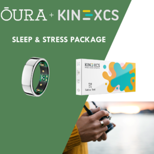 Sleep & Stress Hormone Test + Oura Ring Combo